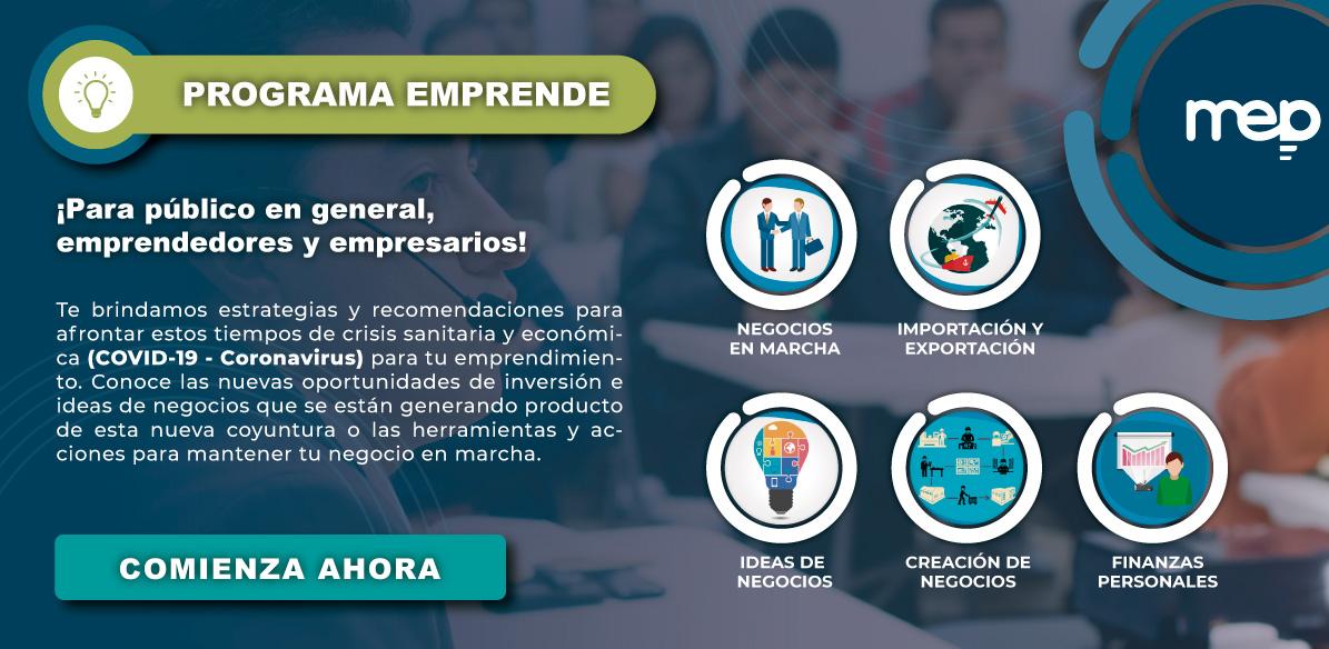 Programa Ideas de Negocios MEP