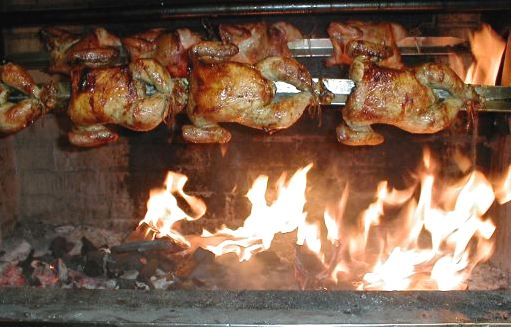 ala brasa el pollo