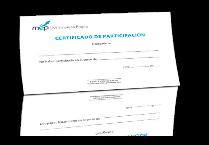 Certificado MiEmpresaPropia