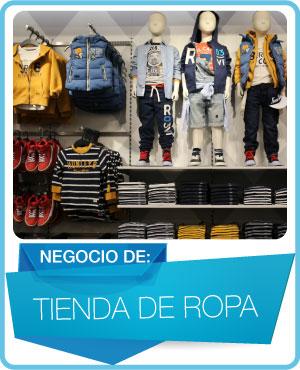 programas tienda de ropa