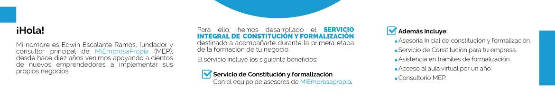 Servicio de Constitución MEP
