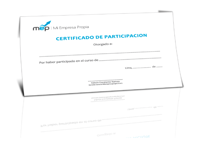 Certificado MiEmpresaPropia