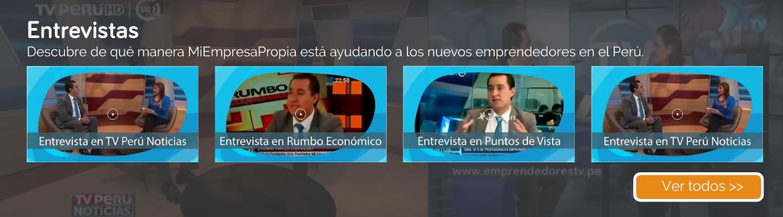 Entrevistas MiEmpresaPropia