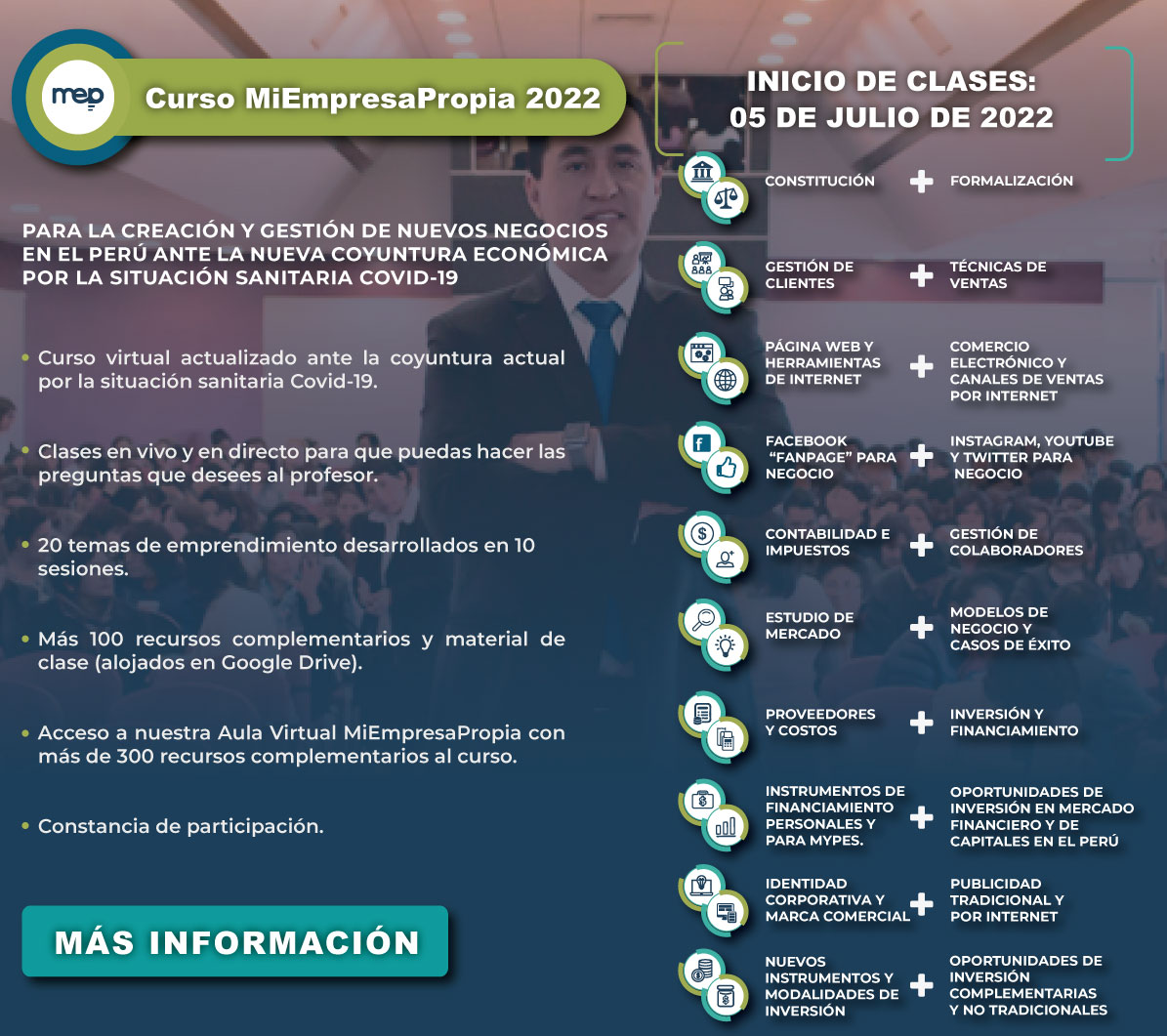 MEP Programa Emprende