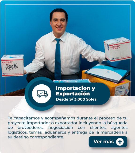 MEP: Importación y Exportación