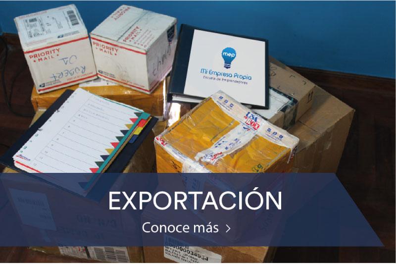 Programa de Exportación - Escuela de Emprendedores