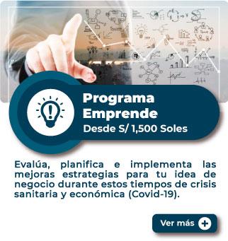 MiEmpresaPropia: Programa Emprende