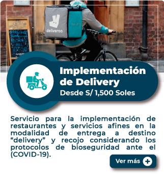 MiEmpresaPropia: Servicio de implementación de delivery