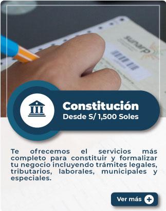 MiEmpresaPropia: Servicio de constitución